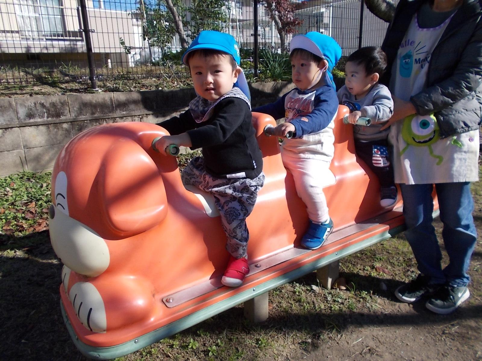 北浦公園に遊びにいったよ!(ひよこ組)